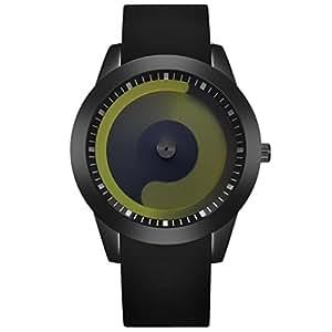 Lujo Unisex Reloj, Hombres y Mujeres Harajuku estilo Acero Inoxidable analógico cuarzo deportes reloj de pulsera, de colores de dulces Japón cuarzo reloj de upxiang