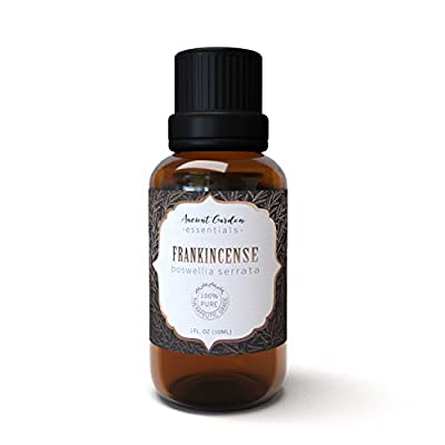 Frankincense Serrata Essential Oil- Stress Relieving Anti Aging Essential Oil By Ancient Garden Essentials - Anxiety Management, Inflammation Relief, Immune System Support
