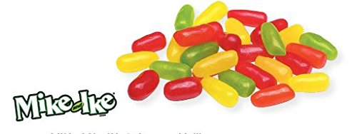 MIKE AND IKE Assorted Jellies - 5 Lbs