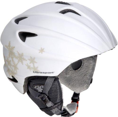 Ultrasport Skihelm PRO Race Edition, weiss Flocke, M/L, 331300000029