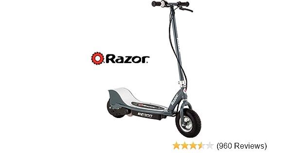 Razor E300 Teen Rechargeable 24 Volt Electric 250 Watt Motorized Scooter