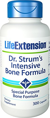 - Life Extension Dr. Strum's Intensive Bone Formula, 300 Capsules