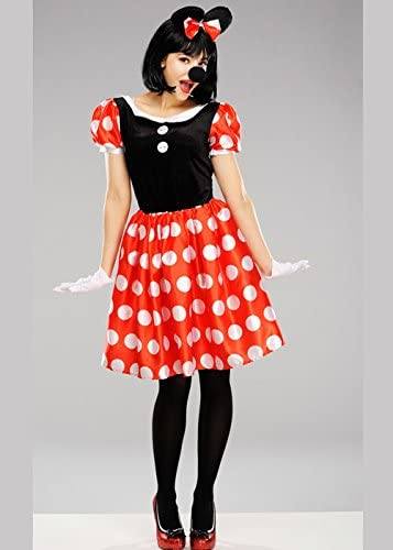 Disfraz de Disney Minnie Mouse para Mujer Medium (UK 12-14 ...