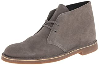 Clarks Men's Bushacre 2 Chukka Boot, 9 D,Grey/Brown/White - Medium (B0059758HE) | Amazon price tracker / tracking, Amazon price history charts, Amazon price watches, Amazon price drop alerts