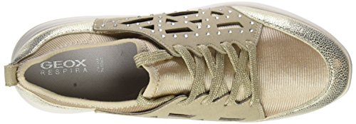 Oro Lt B Sneaker Taupe Donna D Geox Lt Ophira Gold ZfUxO