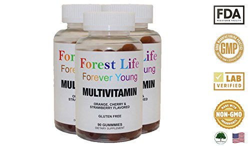 Cheap Forest Life Organics Adult Multivitamin Gummies Multimineral Supplements
