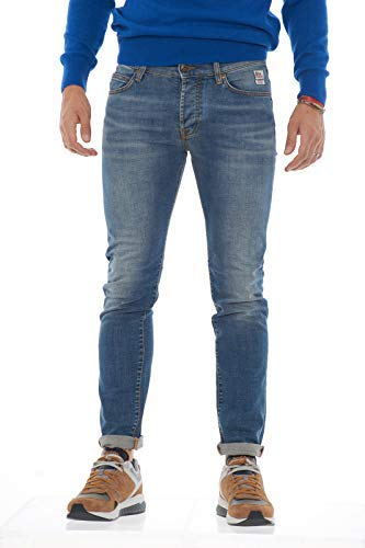Jeans In Strecth Made Roy Superior Weared Rogers 529 Italy Denim rr8ZqT