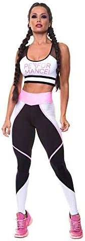 レディースジャージ上下セット 女性のベストズボンスポーツヨガフィットネススーツ (サイズ : L)