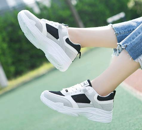 Casual Shoes XINGMU Mesh Lace Women Women Women Pink Breathable Spring Fashion Shoes Up Sneakers Summer Platform rxwRqXAYr