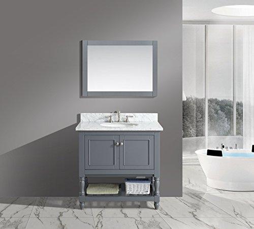 Furnishing Silvia Single Bathroom Carrara