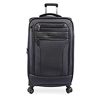 Brookstone Luggage Harbor Spinner Suitcase, Navy, Check-in (29-Inch)