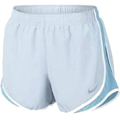 Damen Nike Dry Tempo Running Short Gletscherblau / Vivid Sky / Weiß / Wolfsgrau