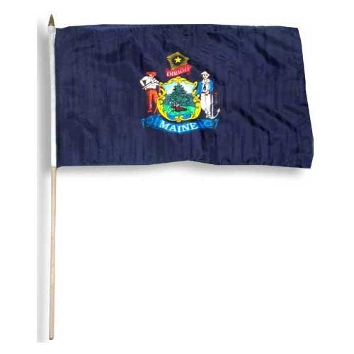 Maine Flag 12 x 18 inch - Store Maine The