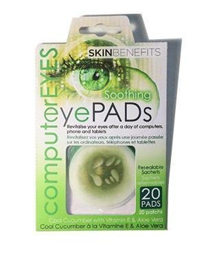 Computer Eyes - Cool Cucumber Eye Pads Amirose London Ltd. SB9