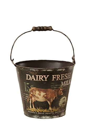 Your Heart's Delight Pail With Handle Dairy Fresh Milk