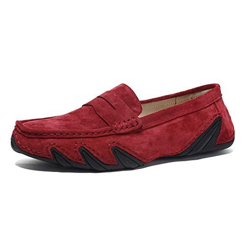 Mocassini Casual Polipropilene Mocassini con Nuovi Rosso Mocassini per 2018 Uomo Fondo Traspiranti da I Nuovo Xujw shoes Morbido in Barca U0pqxI