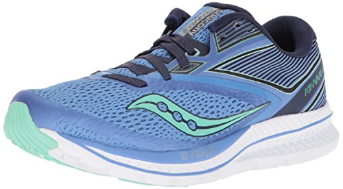 Cheap Saucony Women's Kinvara 9 Running Shoe, Blue/Teal, 8 Medium US