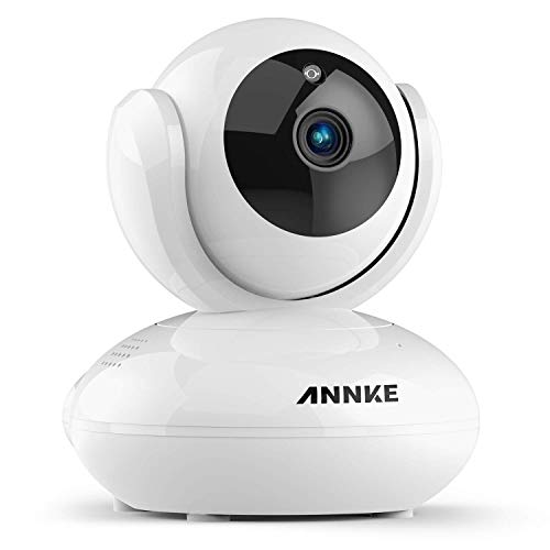 【Works with Alexa】 ANNKE 1080P Wireless Camera, Indoor Pan/Tilt Home  Security Camera, Baby/Pet Monitor, Free APP Motion Detection Alert, Two-Way
