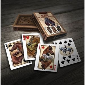(Dover Saddlery Kelley and Company Horse Playing Cards)