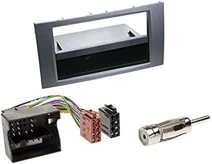 Ford Fusion ju2 02-05 1-din radio del coche Kit de integracion adaptador cable radio diafragma
