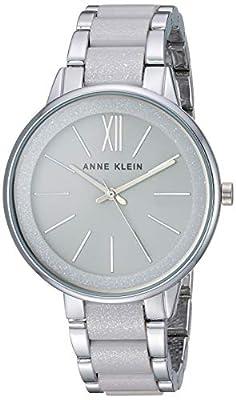 Anne Klein Women's Resin Bracelet Dress Watch by Anne Klein