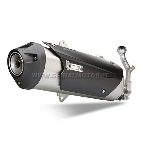 Yamaha XMAX 250/2009/09/Complete Exhaust Mivv Urban Stainless