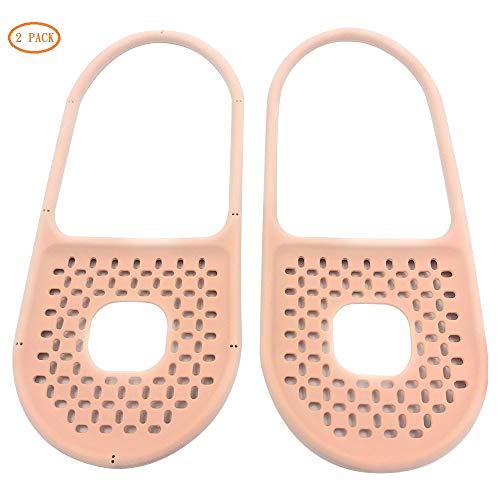 InStyle-Egg Non-slip-Holds Sling Flexible Sink Caddy, Elastic, Sponge, Scrubbing Brush or Dishrag, 2 Pack, -