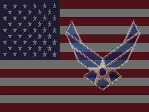 USAF Air Force Flag Poster US American Flag 18X24 (FLAGUSA-17) airforce insignia