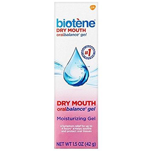 Biotene Oralbalance Dry Mouth Moisturizer Gel 1.50 oz (Pack of 6)