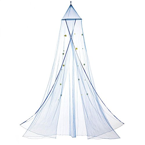 Home Locomotion Blue Starry Sky Bed Canopy by Home Locomotion