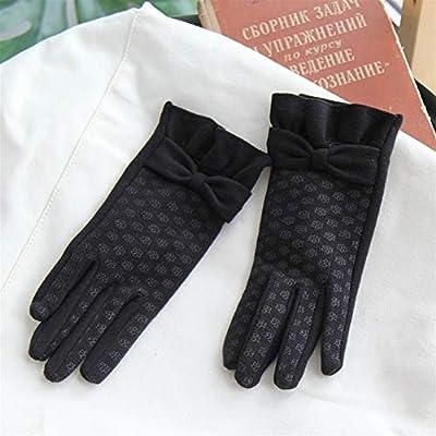 WBFN Ardent - Guantes de Invierno para Pantalla táctil (algodón), Negro, Talla única: Amazon.es: Hogar