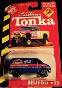 Tonka Die Cast Collection 2,delivery Van (Tonka Van)