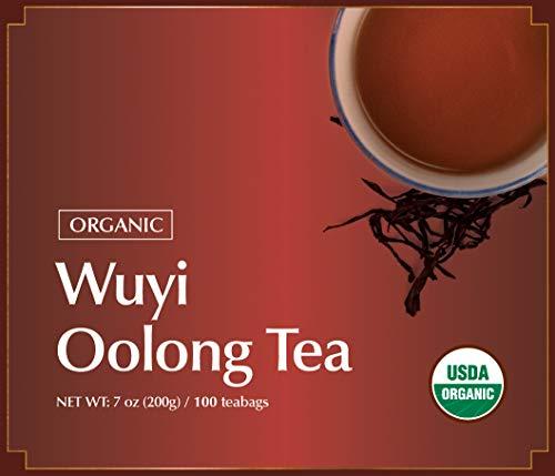 Wuyi Mtn. Oolong (Wu Long) Tea Bags, 0.07 Ounces x 100 teabags