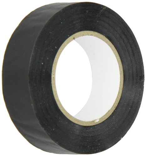 """Wire Harness Easy-Wrap PVC Tape, 0.75"""" Width, 60' Length, 0.005"""" Thick, Black"""