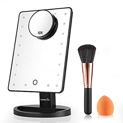 Easehold Lighted Makeup Vanity Mirror