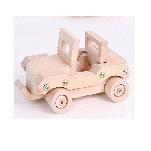 (Sala Trend Children Wooden Dune Buggy Car Building)