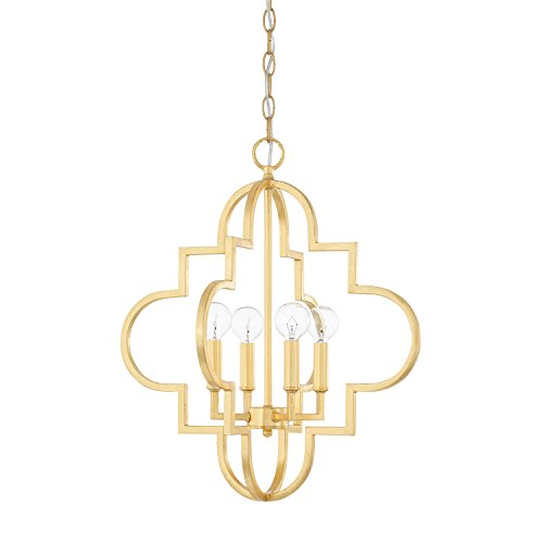 Capital Lighting 4541CG Four Light Pendant - Capital Lighting Four