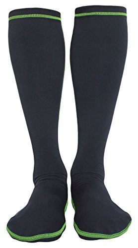 WETSOX Therms Round Toe Wetsuit Socks, Get In and Out of Wetsuit or Booties in Seconds, 1mm Neoprene for Extra - Putting Wetsuit On