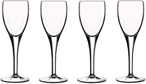 Luigi Bormioli Michelangelo 2.25 oz Liqueur Glasses (Set of 4), Clear