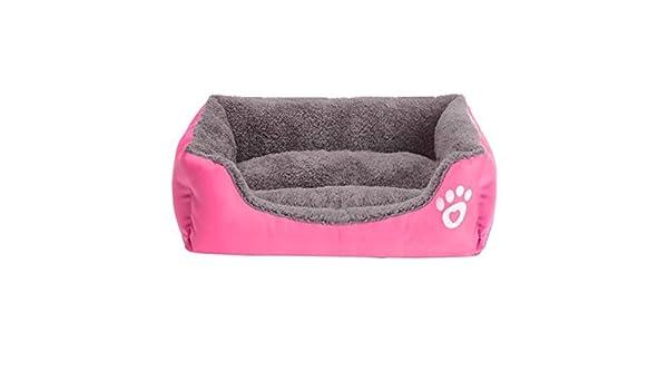 Japace® - Cama para mascotas - Acogedora y confortable cama para mascotas, cojín desenfundable en suave algodón para perros, gatos, conejos, cachorros.