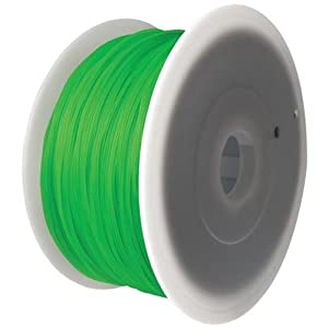 FlashForge PLA Green Filament 1.75mm / 2.2 lb (1KG) for Creator Series (Pro, X, Wood) 3D Printers from FlashForge