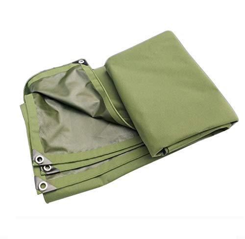 Yuke 550g   m² Polyester Regendichte Plane Ideal für Camping Shelter Car Camping Reisen (größe   2x2m)