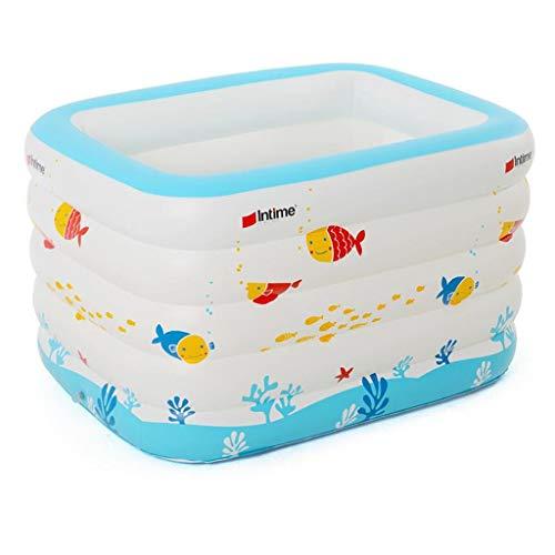 SWIM Inflatable Swimming Pool, Family Baby Inflatable Bath, Swimming Center Family Inflatable Swimming Pool