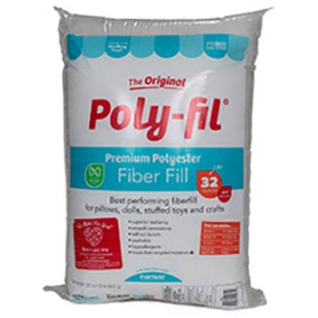 Fairfield Poly Fil Premium Fiber Fill, 32-Ounce (4) by Fairfield