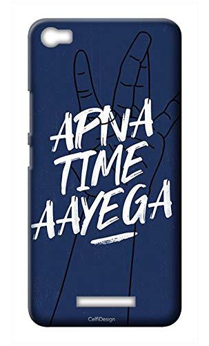 Mobile Back Cover-Apna Time Aayega Swag for Lava Iris X8