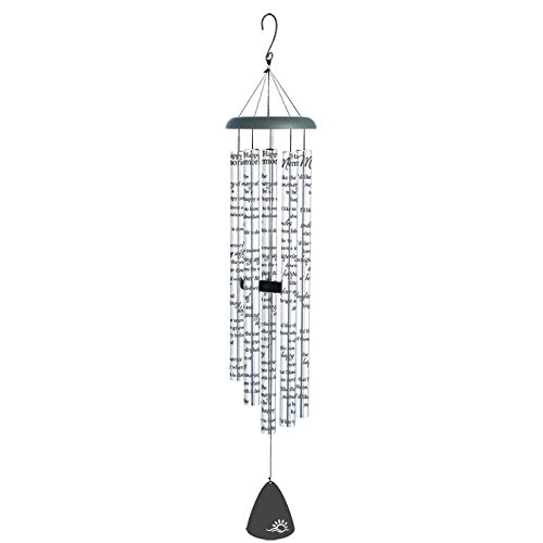Carson Home Accents Sonnet Wind Chime, Happy Memories, 55'' Long by Carson