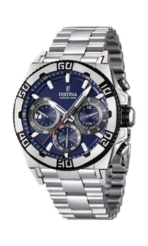 Men's Watch Festina Chrono Bike F16658/2 Tour de France 2 Years Warranty