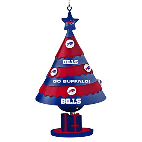 NFL Buffalo Bills Tree Bell Ornament