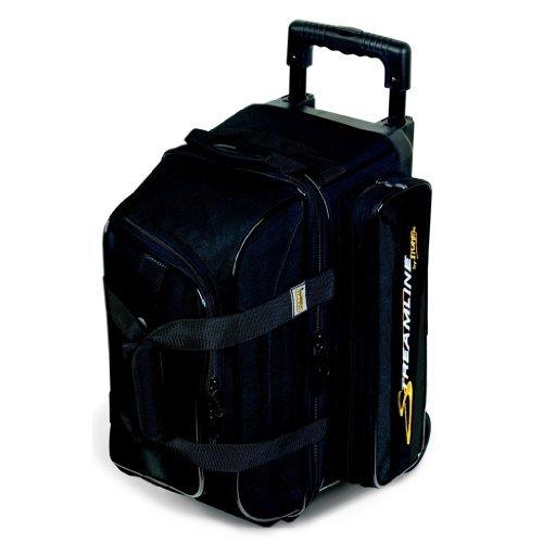 Streamline 2 Ball Roller Bowling Bag by Storm- Black ()