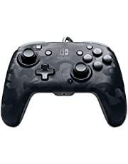 PDP Nintendo Switch Faceoff Deluxe+ Audio Wired Controller - Black Camo, 500-134-NA-CM00 - Nintendo Switch